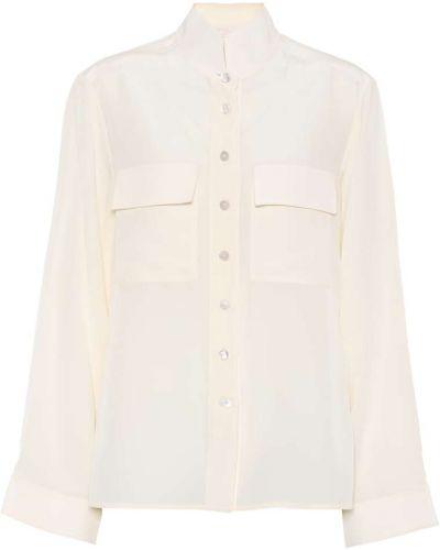 Блузка батник с жемчугом Chloé