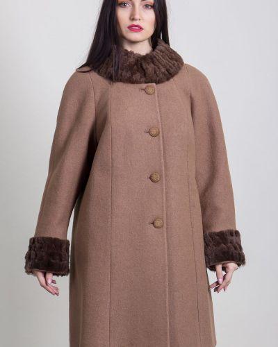 Свободное пальто свободного кроя на пуговицах Sergio Cotti