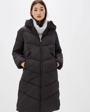 Теплая черная куртка Zarina