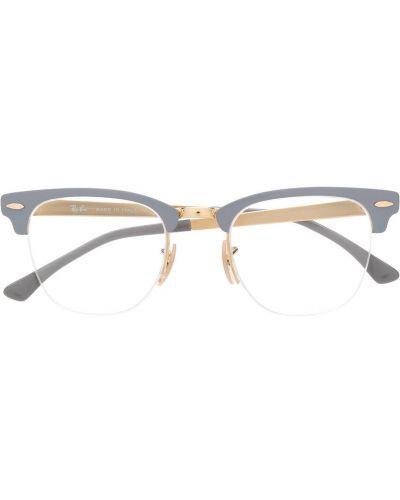 Złote oprawka do okularów - khaki Ray-ban
