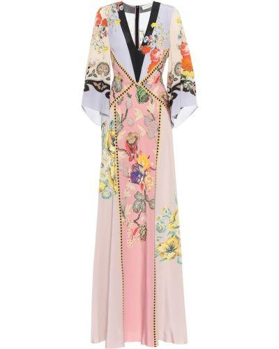 Летнее платье в стиле бохо шелковое Etro