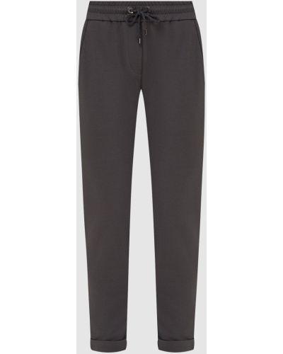 Серые спортивные брюки Brunello Cucinelli