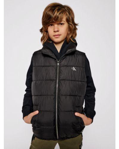 Kamizelka - czarna Calvin Klein Jeans