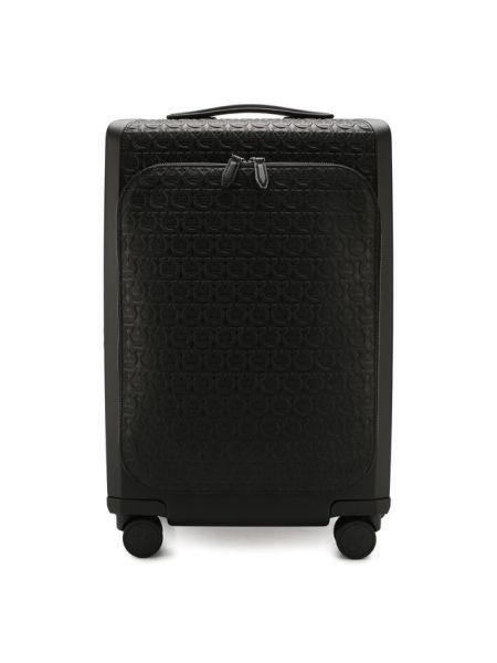 Кожаный чемодан Salvatore Ferragamo