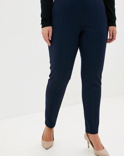 Классические брюки итальянский синие Keyra
