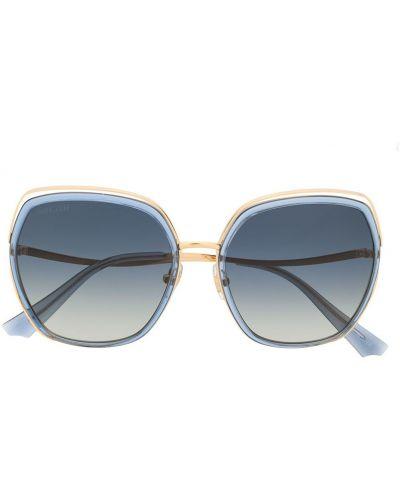 Прямые солнцезащитные очки металлические хаки Bolon