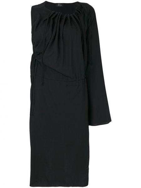 Платье на одно плечо - черное Lost & Found Ria Dunn