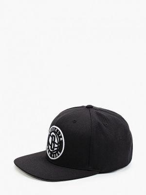 Черная бейсболка осенняя Mitchell & Ness