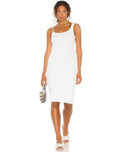 Платье рубашка - белое La Made