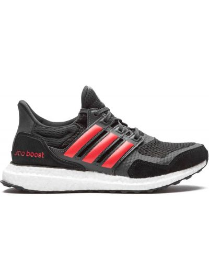 Nylon czarny top zasznurować z paskami Adidas