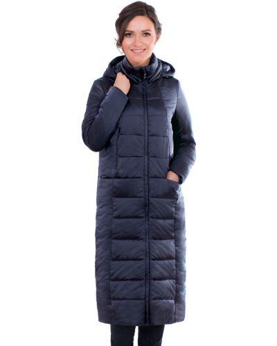 Зимнее пальто с капюшоном длинное J-splash