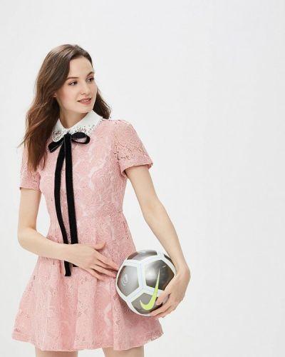 Розовое платье весеннее Sister Jane