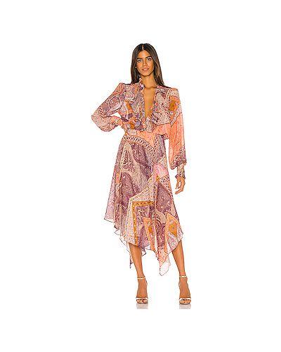 Платье миди шифоновое на резинке Divine Heritage