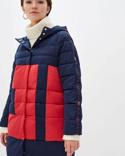 Зимняя куртка утепленная осенняя Elisabetta Franchi