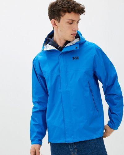 Синяя куртка осенняя Helly Hansen