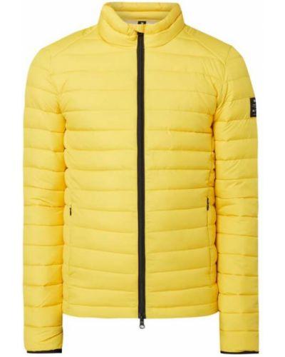 Żółta kurtka pikowana Ecoalf