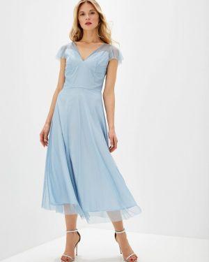 Вечернее платье - голубое Genevie