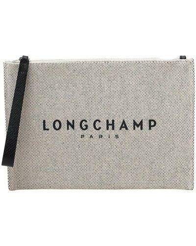 Beżowa torebka Longchamp