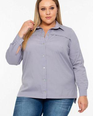 Рубашка с длинным рукавом серая Intikoma