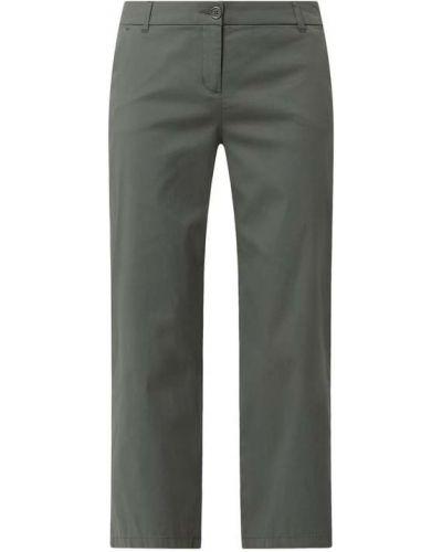 Zielone spodnie bawełniane Christian Berg Women
