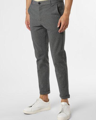 Szare spodnie casual Lindbergh