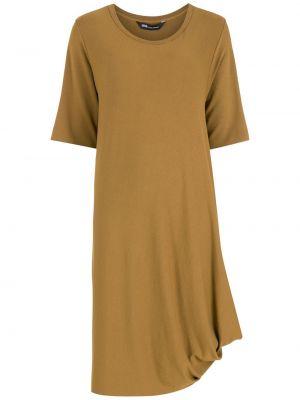 Платье миди средней длины - коричневое Uma   Raquel Davidowicz