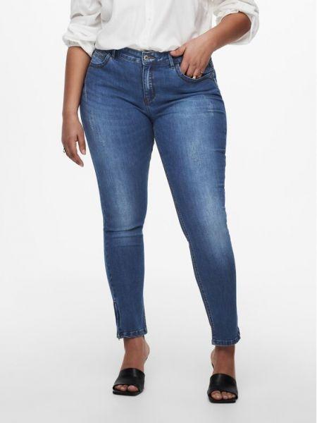 Mom jeans - niebieskie Only Carmakoma