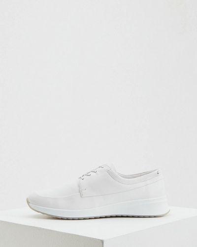 Кожаные белые кроссовки Hogl