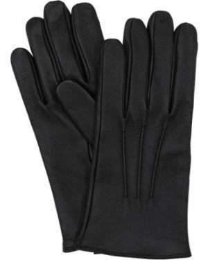Skórzany rękawiczki prążkowany Mario Portolano