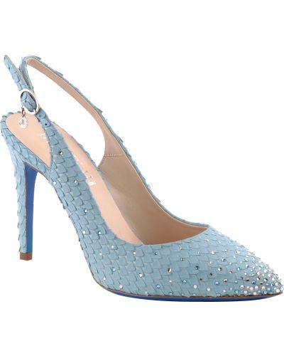 Голубые туфли Loriblu