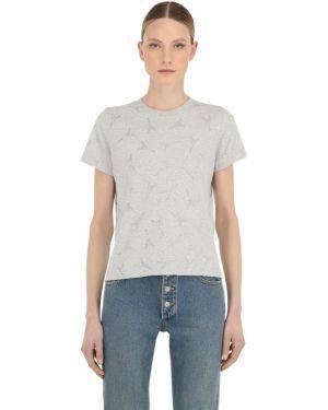 Рубашка с воротником-стойкой Balenciaga