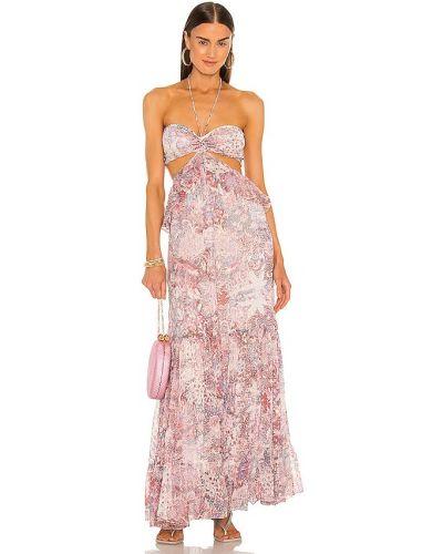 Шифоновое вечернее платье - розовое Rococo Sand