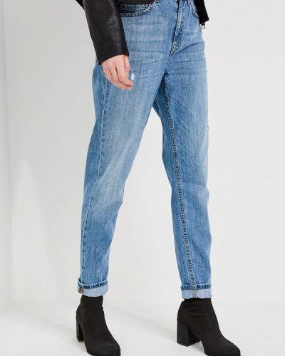 Голубые джинсы с высокой посадкой Liu Jo Jeans