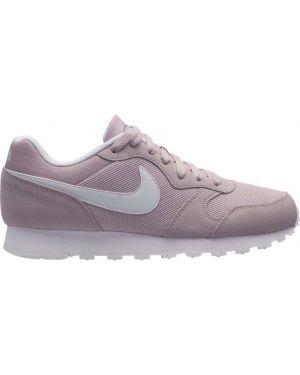Кроссовки замшевые с рисунком Nike