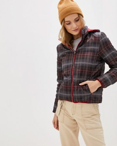 Утепленная куртка демисезонная черная Bruebeck