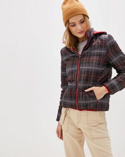 Утепленная куртка - черная Bruebeck