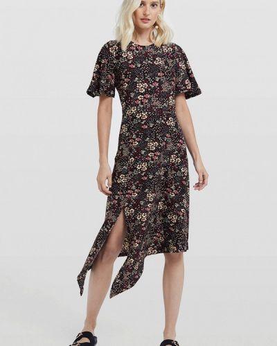 Джинсовое платье прямое осеннее Miss Selfridge