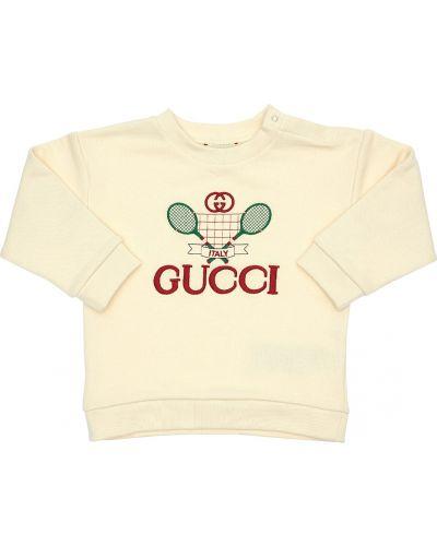 Bluza z logo Gucci