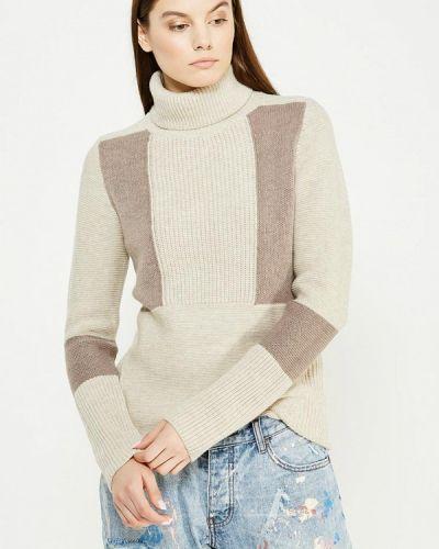 Бежевый свитер осенний Woolrich