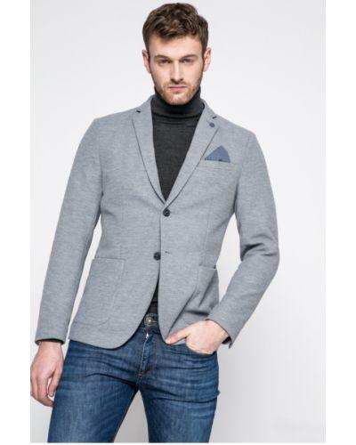 Серый костюм классический Selected