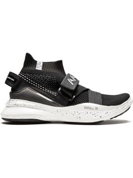 Czarne wysoki sneakersy Aape