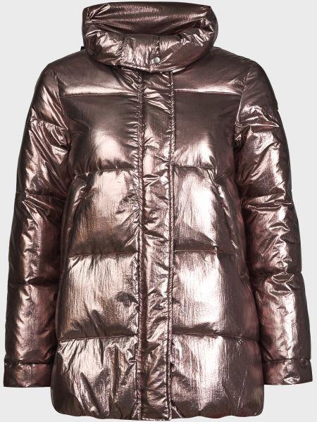Коричневая куртка на молнии с подкладкой Canadian