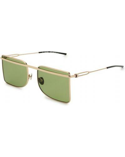 Зеленые солнцезащитные очки Calvin Klein 205w39nyc