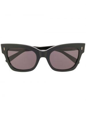 Муслиновые черные солнцезащитные очки квадратные Mulberry