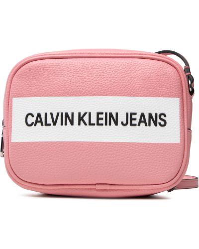 Różowa torebka Calvin Klein Jeans