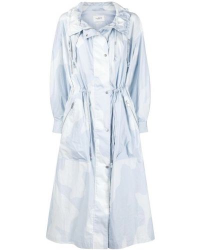 Kurtka przeciwdeszczowa - niebieska Isabel Marant Etoile