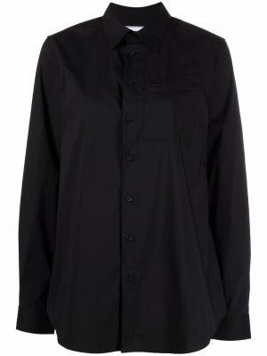 Черная рубашка с карманами Y-3