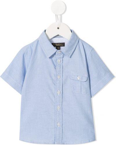 Koszula sztruksowa - niebieska Velveteen