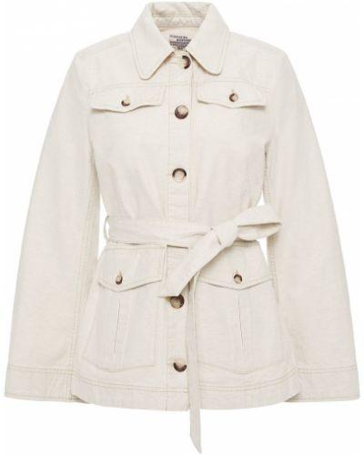 Ватная бежевая куртка с поясом Baum Und Pferdgarten