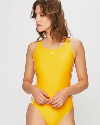 Слитный купальник желтый с подкладкой Adidas Performance
